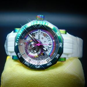 FIRM PRICE-INVICTA AUTOMATIC IRIDESCENT WATCH